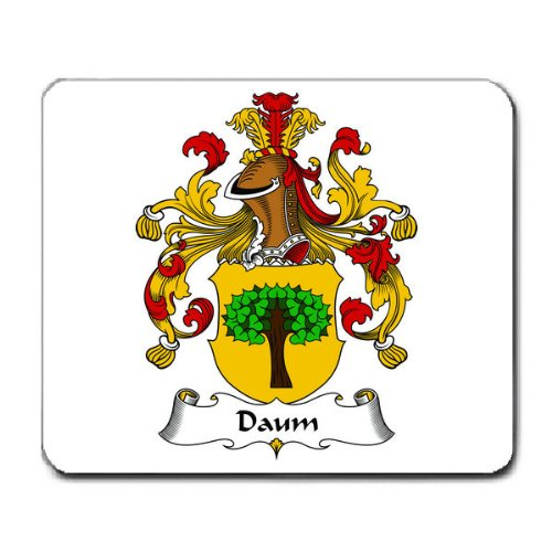 Daum Family Crest Coat of Arms Mouse Pad