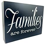 Decorative Box Sign Canvas-Sweet Sayings Great Gift (Families Are Forever)