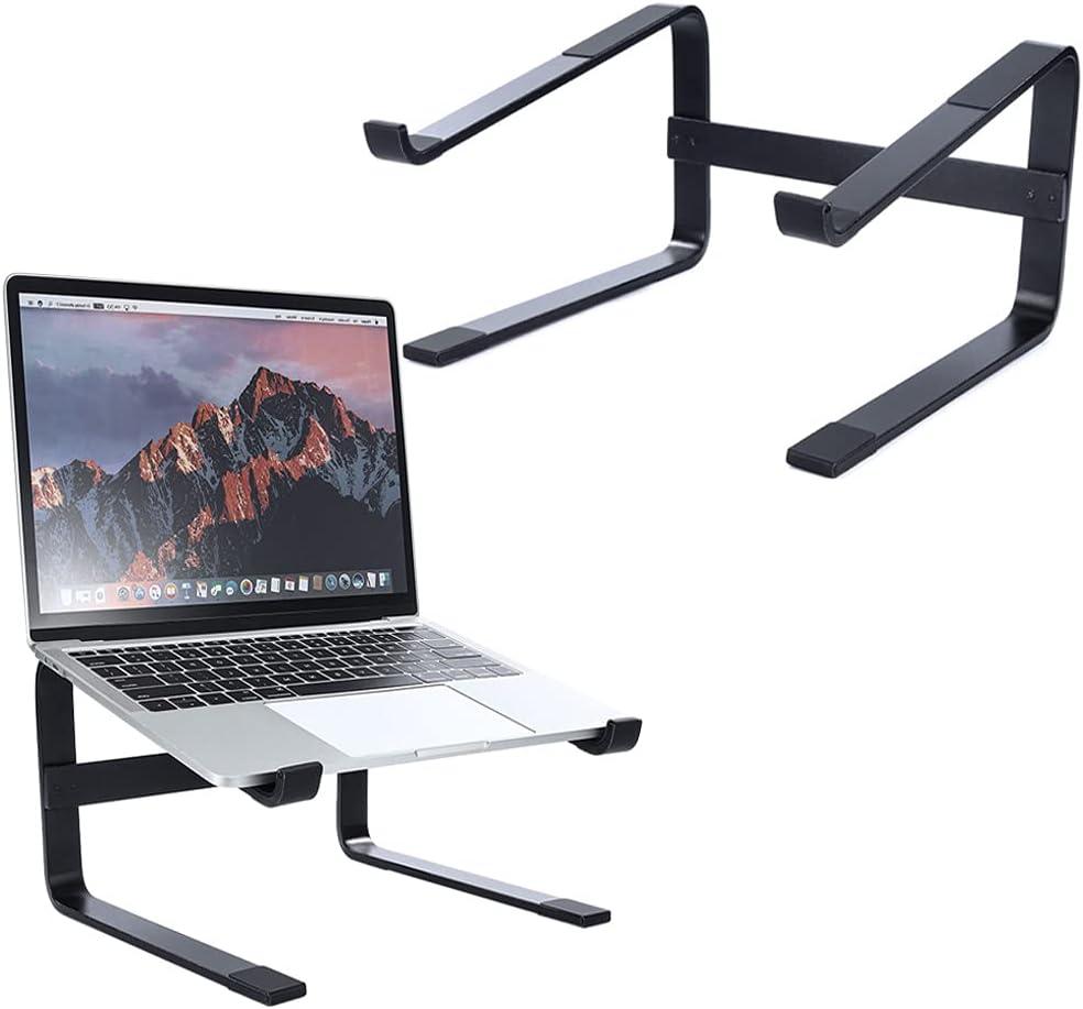 Tokanoso Laptop Stand for Desk Aluminum Laptop Riser Ergonomic Computer Notebook Stand Detachable Laptop Elevator Compatible with MacBook Air Pro,Dell XPS,HP,Lenovo More 10-18