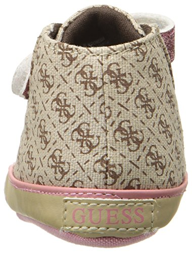 Guess unisex, niños 0-24 Filona3 Fal12 zapatos Walking Baby Beige (Beige/Light Brown)