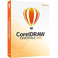 CorelDRAW Essentials 2021 | Graphics Design Software for Occasional Users | Illustration, Layout, and Photo Editing [PC…