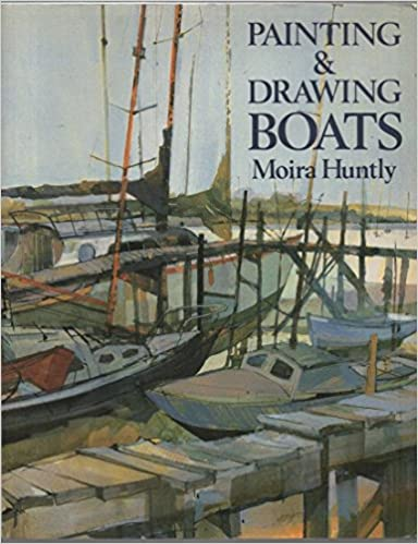 Book Painting and Drawing Boats
