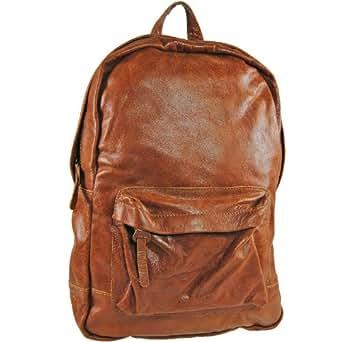 Cowboysbag Lander - Bolso mochila  de cuero para mujer marrón Tan One size