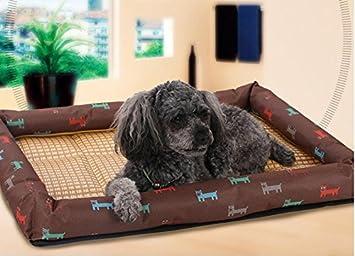 XCXpj - Colchoneta de Verano para Perro, Cama para Mascotas, Gato (marrón, XL): Amazon.es: Productos para mascotas
