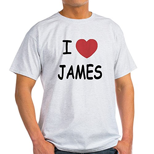 CafePress I Heart James - 100% Cotton T-Shirt