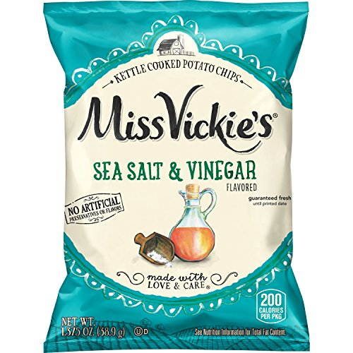 Pull Misses (Miss Vickie's Flavored Potato Chips, Salt & Vinegar, 28 Count)