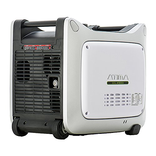 Atima AY3000i 3000 Watt Small & Quiet Portable Inverter Generator, Gas Powered Yamaha Engine for RV Camping or Home Use, CARB Compliant For Sale