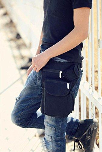 pengweiMontar un bolso de bicicleta bolsa de lona al aire libre multi-funcional de la pierna de ocio ocio bolsos bolsos de pesca , 1 1