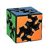 LZLRUN 3D Rubiks Gear Cube, 2X2 3X3 Match-specific Twisty Puzzle
