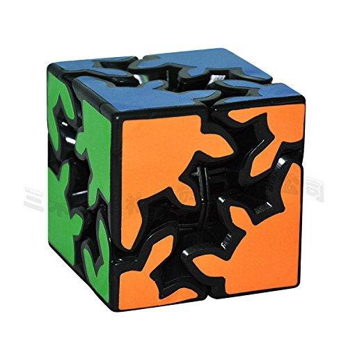 LZLRUN 3D Rubiks Gear Cube, 2X2 3X3 Match-specific Twisty Puzzle (Puzzle Cube Gear)