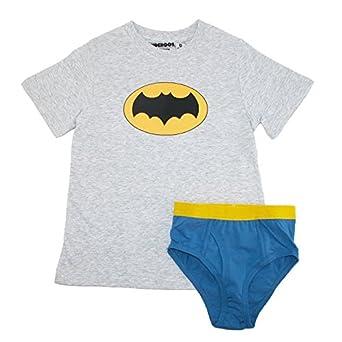 Amazon.com: Underoos Boys' Batman Superhero Underwear Shirt Set ...