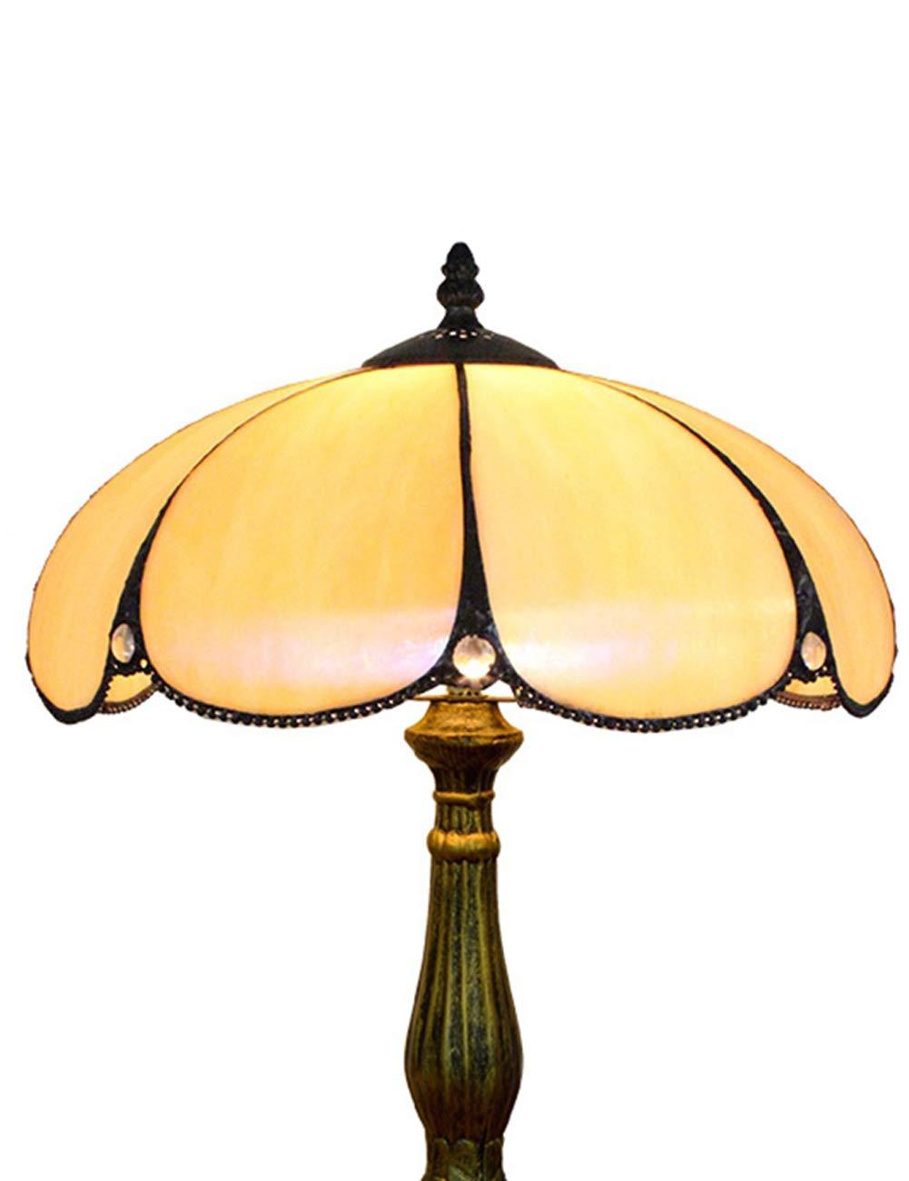 DLewiee Tischlampe Floral geformte Lampenabdeckung Gelb Gelb Gelb Natural Light Retro Vintage B07KS3MGSC   Spaß  17ef97
