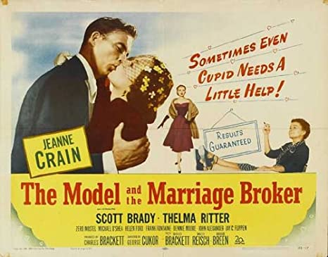 Image result for the model and the marriage broker 1951