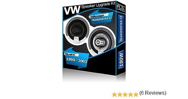FLI – Altavoces para salpicadero, VW Transporter T4 4