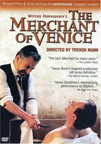 The Merchant of Venice / Trevor Nunn, Royal National Theatre by NUNN,TREVOR