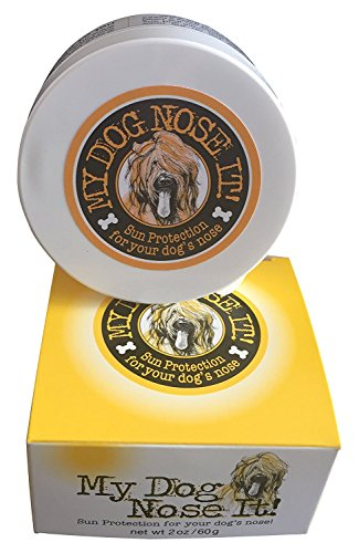 My Dog Nose It Moisturizing Sun Protection Balm for Dogs Noses – Protect Your Dog from Harmful UVA/UVB Rays (2oz) For Sale