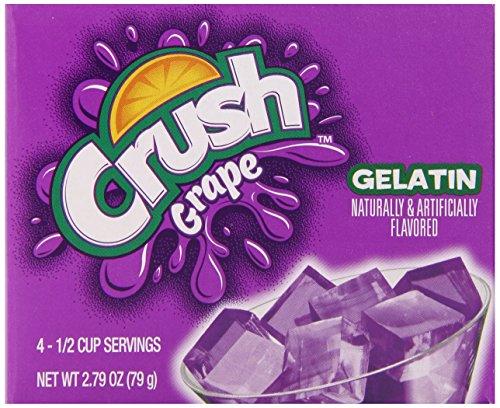 Crush Grape Gelatin Dessert Mix (12 - 2.79 oz Boxes) ()