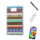 Weview(TM)Galaxy Alpha Case,Galaxy SM-G8508S/G8509V/G850F Case Cover,Cute Cartoon Print Hard Case Cover For Samsung Galaxy Alpha SM-G8508S/G8509V/G850F +free Black Stylus+Two Screen Protectors +Fishbone Cable Winder(Colorful )