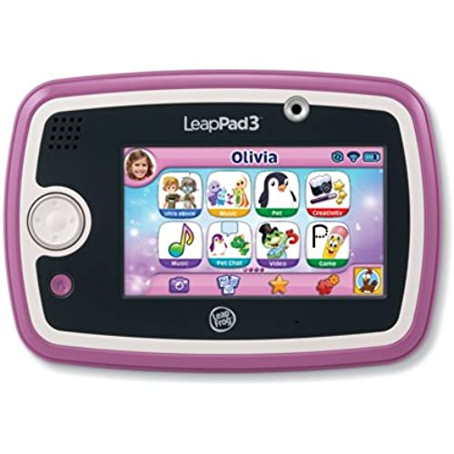 LeapFrog LeapPad3 Kids' Learning Tablet, Pink Coupons