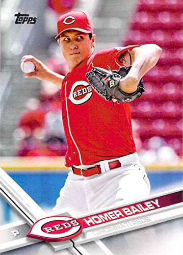 Baseball MLB 2017 Topps #200 Homer Bailey Reds