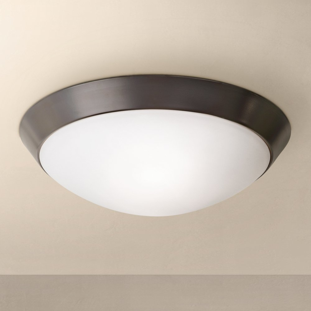 Davis 11 wide oil rubbed bronze ceiling light fixture flush mount davis 11 wide oil rubbed bronze ceiling light fixture flush mount ceiling light fixtures amazon arubaitofo Choice Image