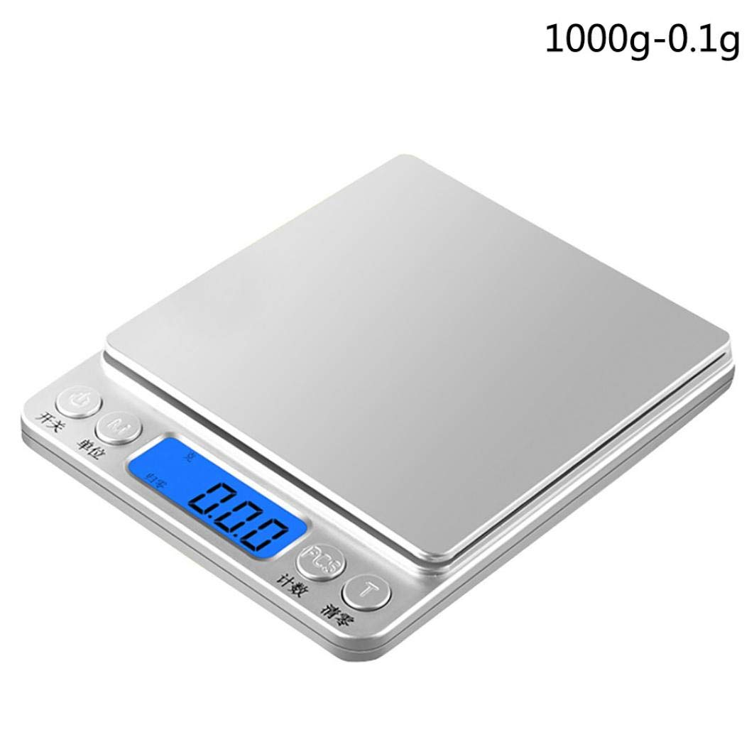Digital Scale,LtrottedJ Precision Digital Scales ,for Gold Jewelry Weight Electronic Scale (B)