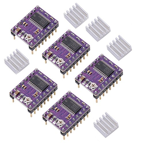OctagonStar DRV8825 Stepper Motor Driver Module 4-layer for 3D Printer Reprap RP A4988(5PCS) by OctagonStar