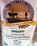 2x Organic Flour Bags 10lbs. Each. Total of 20lbs.