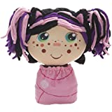 Flip Zee Girls (Zuri Kitty Cat 2-in-1 Plush Doll by Jay at Play Soft & Squeezable Toy Instantly Switches from 12in Baby to 18in Big Girl Surprise