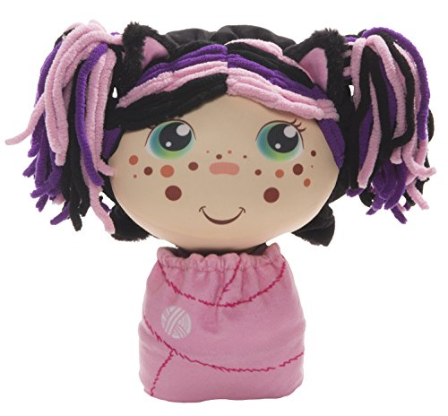 Flip Zee Girls Zuri Kitty Cat 2-in-1 Plush Doll by Jay at Play – Perfect Gift – Soft & Squeezable Toy Instantly Switches from 12in Baby to 18in Big Girl - Est Girl