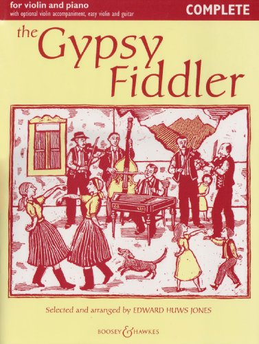 - The Gypsy Fiddler - Music from Hungary and Romania - Fiddler Collection - violin (2 violins) and piano, guitar ad lib.
