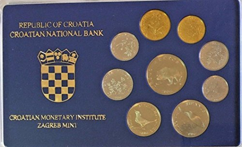 HR 2006 2006 Croatia Set 9 Coins Zagreb Special Edition B Good