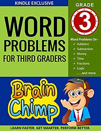 Word Problems For Third Graders: Ages 8 - 9, Grade 3 - Kindle ...
