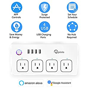 pinlo Smart Power Strip : I bought this smart outlet to go in a behind the  couch table
