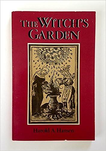 The witchs garden harold a hansen 9780877285519 amazon books fandeluxe Gallery