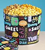 Fun With Snacks Popcorn Tins - 3-1/2 Gallon 3-Flavor