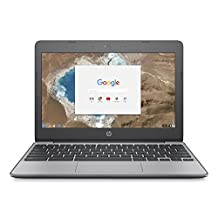 Hewlett Packard 11.6-Inch Chromebook (Intel Celeron N3060, 4GB Ram, 16B eMMC Storage, Chrome OS), Black