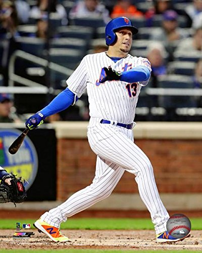 "Asdrubal Cabrera New York Mets 2018 Action Photo (Size: 8"" x 10"")"