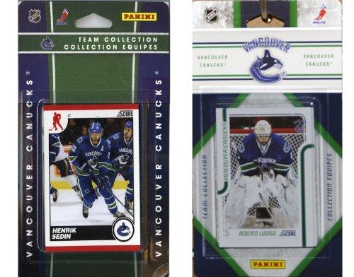 NHL Vancouver Canucks Licensed Score 2 Team Sets ()