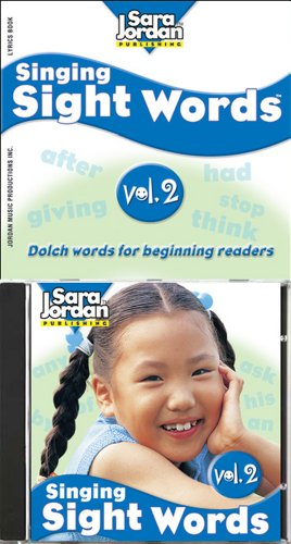 Singing Sight Words vol. 2, CD/book kit