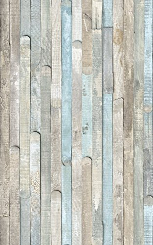 d-c-fix Self-Adhesive Film, Beach Wood (17.71×78 2 Rolls, Multicolor)