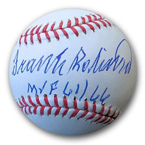 (Frank Robinson Autographed Signed MLB Baseball Mvp 61/66 Orioles JSA Wp041790 - Authentic Memorabilia)