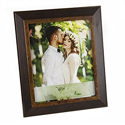 "WoodArt Wooden Picture Frame (6x8, Radica Wood) - ECO-FRIENDLY: made of reforested wood and water economy on production process EASY TO USE: load your pictures and photos in a simple way, with concealed latches. Easelback for tabletop display SIZES AVAILABLE: Portrait Orientation, with different finishes and sizes available for pictures in 4x6, 5x7, 6x8, 8x10"" - picture-frames, bedroom-decor, bedroom - 51tnZ9UrhwL. SS400  -"