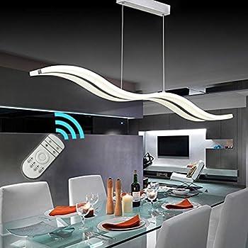 Create for life modern wave led pendant light dimmable fixture create for life modern wave led pendant light dimmable fixture ceiling contemporary chandelier light led hanging aloadofball Choice Image