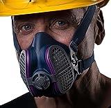 GVS SPR456 Elipse P100 Nuisance Odor Respirator, Medium/Large