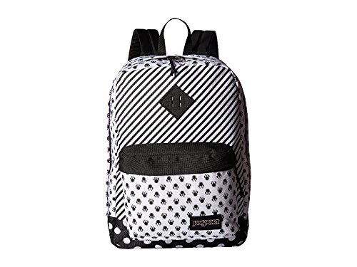 JanSport Disney Minnie White Bow Dot Super Fx Backpack