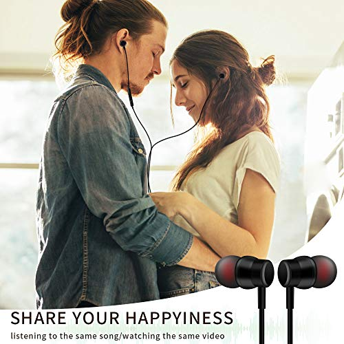 Xinber Earbuds in-Ear Headphones Compatible with iPhone 11 Pro Max iPhone X/XS/XR iPhone 8/8 Plus/7/7 Plus, MFi Certified Wired Earphones Built-in Microphone with Controller