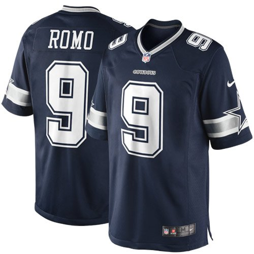 Dallas Cowboys Tony Romo #9 Nike Navy Limited Jersey ()