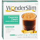WonderSlim Low-Carb Meal Replacement Weight Loss Shake – CocoMint Cream – 15g Protein Diet Shake & Pudding Mix (7 Count)