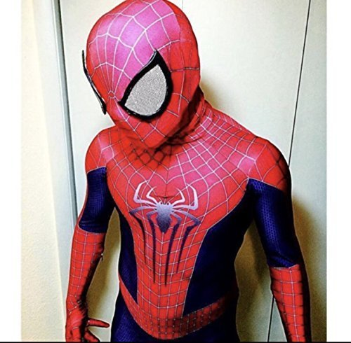 AestheticCosplay's The Amazing SPIDER-MAN 2 Costume Cosplay With Mask & Lenses